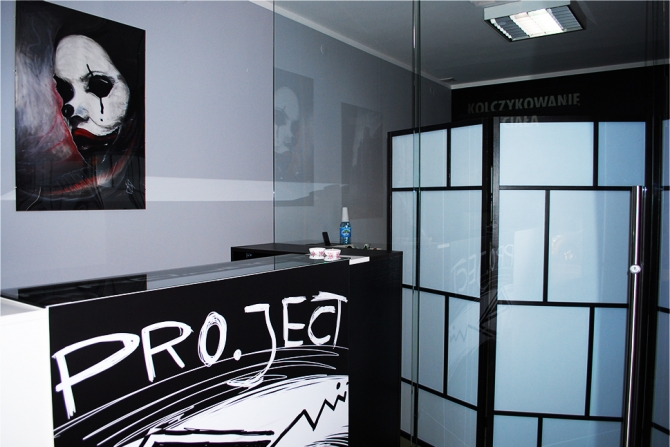 Studio pro ject tatua warszawa salon i studio for 201 twiggs studio salon
